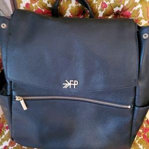 Freshly Picked Convertible Diaper Bag Backpack in Ebony